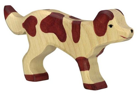 Holztiger Farm Dog Toy Figure