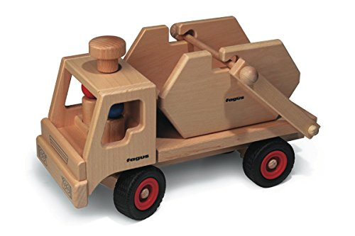 Fagus Wooden Skip Dump Truck - Made in Germany