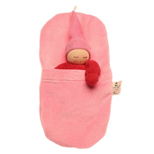 Nanchen Organic Cotton Waldorf Baby in Sleep Sack