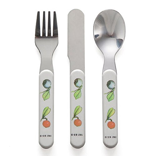 "Elsa Beskow ""Peter in Blueberry Land"" Children's Cutlery Set (3 pcs)"