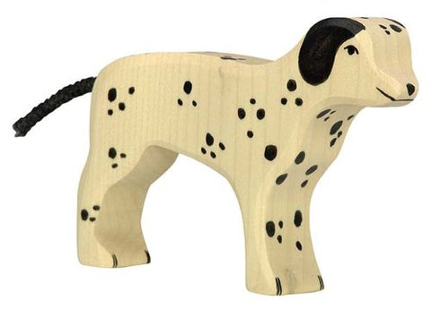 Holztiger (80062) Dalmatian Dog Toy Figure
