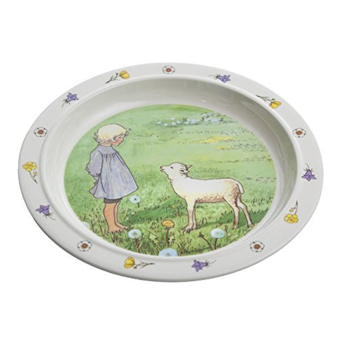 "Elsa Beskow's ""Mors Lilla Olle"" (Swedish Song) Children's Dinner Plate"