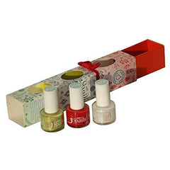 Mini Snails Non-Toxic Water-Based Nail Polish Gift 3 Pack 7 ml each