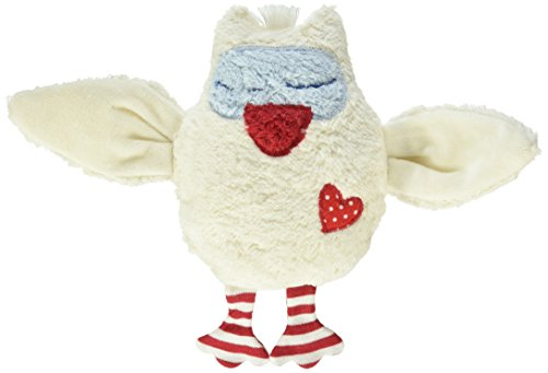 Pat & Patty Organic Cotton Owl Rattle