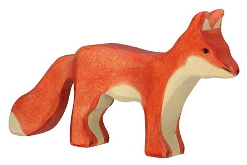 Holztiger Fox Standing Toy Figure
