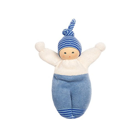 "Nanchen Small Organic Cotton Doll -""Schlenkerliese"""