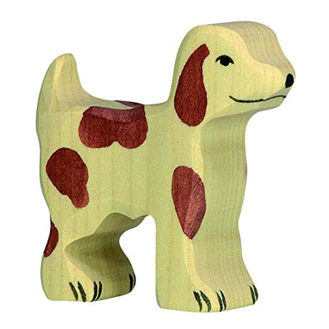Holztiger Little Farm Dog Toy Figure