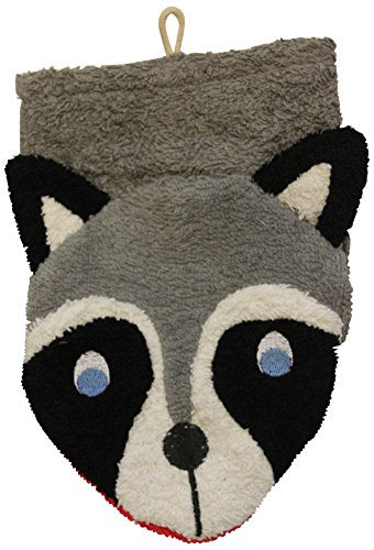 Wash Mitt Raccoon Puppet by Large