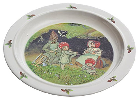 Elsa Beskow's Children of the Forest Children's Dinner Plate