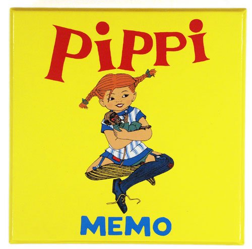 Pippi Longstocking Memo Memory Game (32 tiles - 16 Sets) 2-4 Players