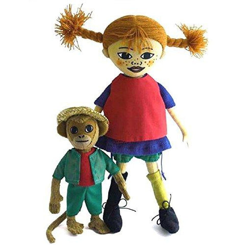 Doll - Pippi and Mr. Nilsson