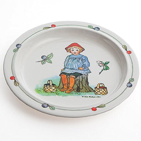 "Elsa Beskow ""Peter in Blueberry Land"" Children's Dinner Plate 9"""
