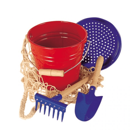 Metal Bucket Set by Nic - challenge and fun natural toys