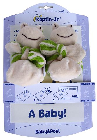 Foot Rattle Booties -  Guak (Green) (4)