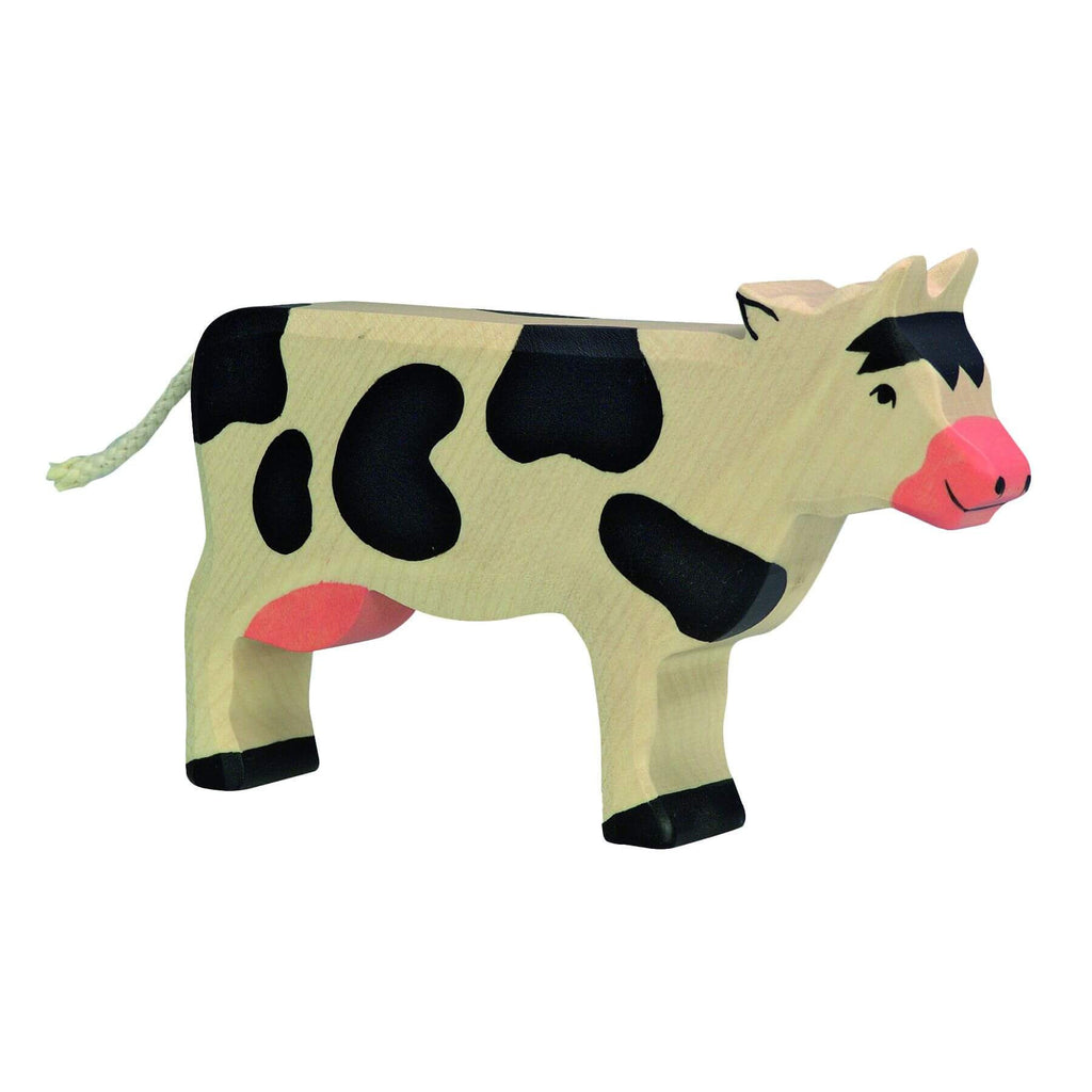 Wooden Cow by Holztiger - challenge and fun natural toys
