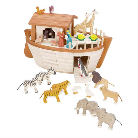 Wooden Noah's Ark by Holztiger