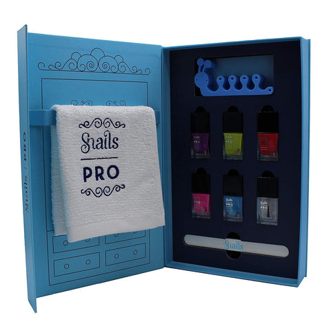 Snails Pro Spa Gift Set - Non-Toxic Washable Nail Polish Set
