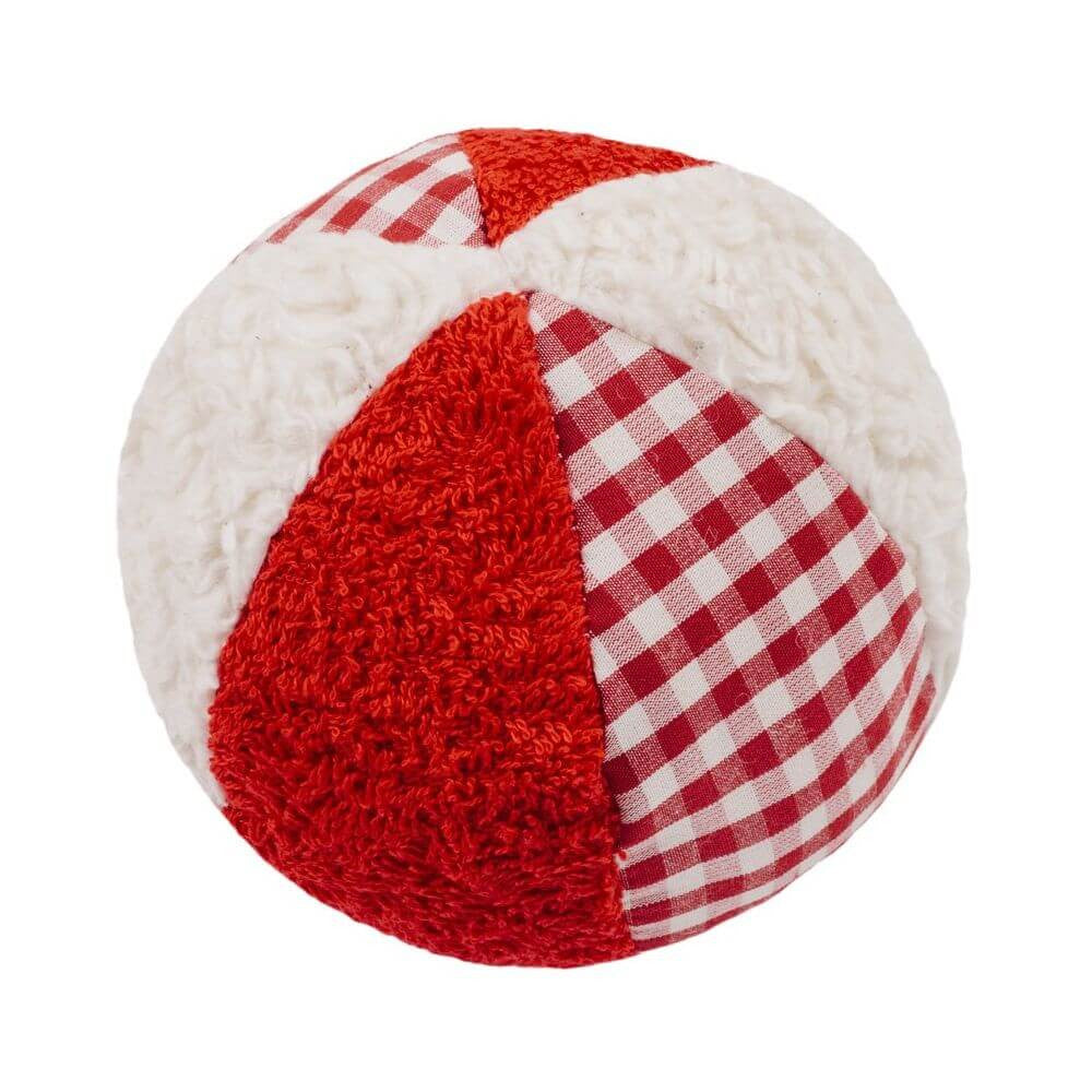 Organic Cotton Rattle Ball - challengeandfunretail - 1