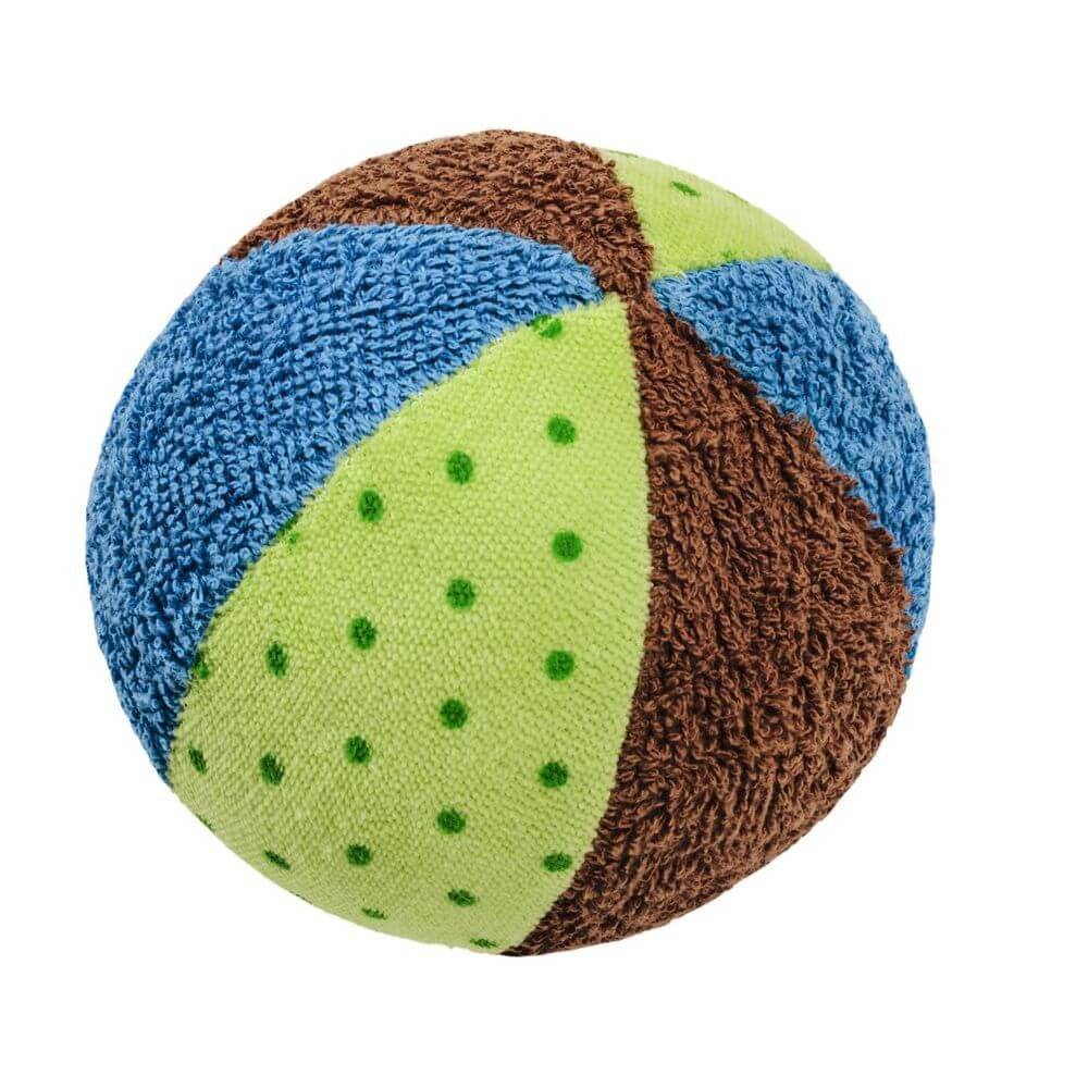 Organic Cotton Rattle Ball - challengeandfunretail - 2