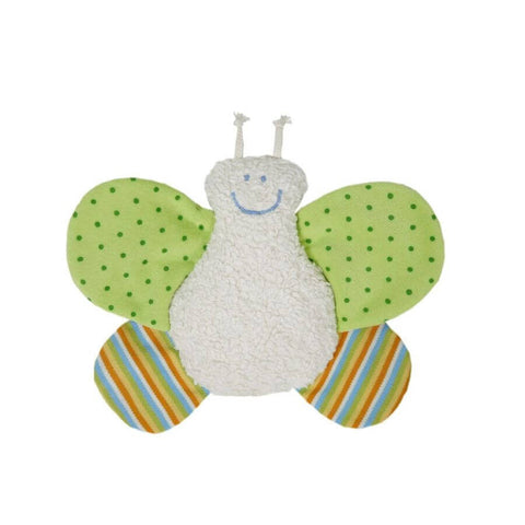 Organic Cotton Butterfly Rattle for Baby - challengeandfunretail