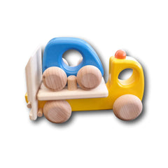 Wooden Tow Truck by Bajo - challenge and fun natural toys - 2