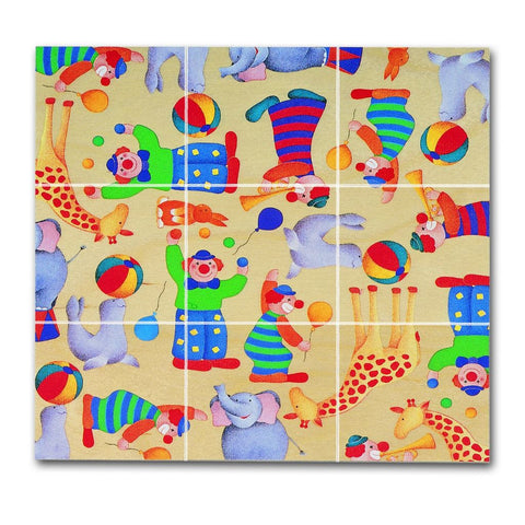 Chelona Wooden Pocket Puzzle---Circus - challenge and fun natural toys