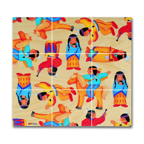 Chelona Pocket Puzzles - Native Americans - challengeandfunretail