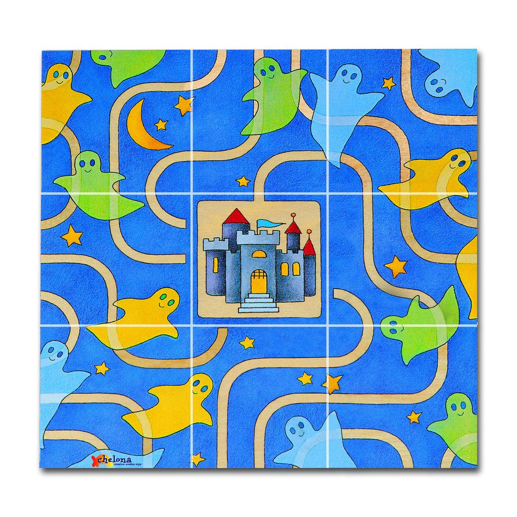 Chelona Pocket Puzzle---Ghosts - challengeandfunretail