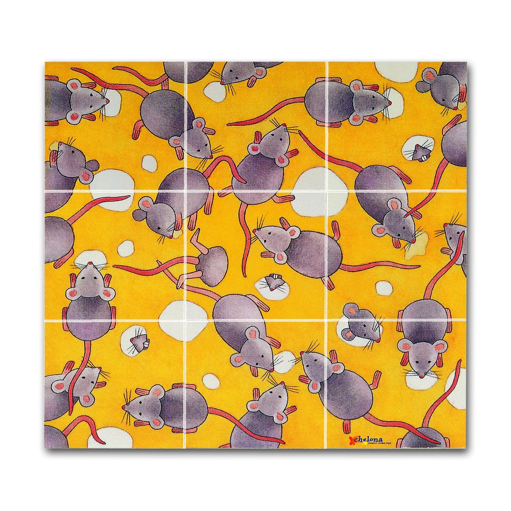 Chelona Wooden Pocket Puzzle - Mice - challengeandfunretail