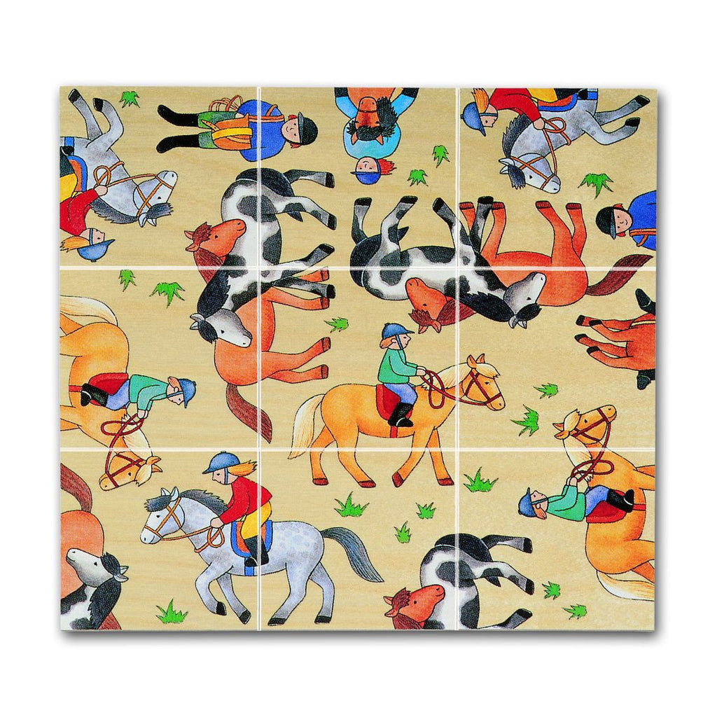 Chelona Wooden Pocket Puzzle - Horse - challengeandfunretail