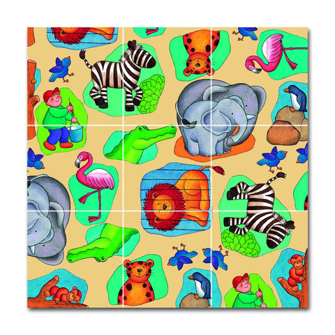 Chelona Wooden Pocket Puzzle - Zoo - challengeandfunretail
