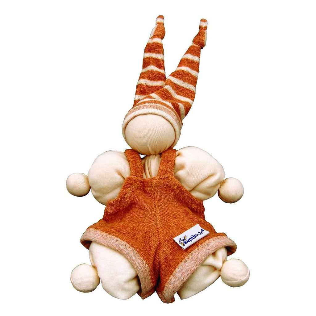 Keptin-Jr Cuddle Pants Cozzy Doll - challenge and fun natural toys