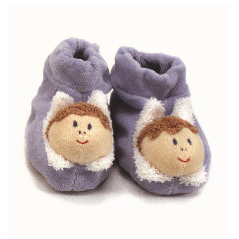 Blue Slippers - challengeandfunretail