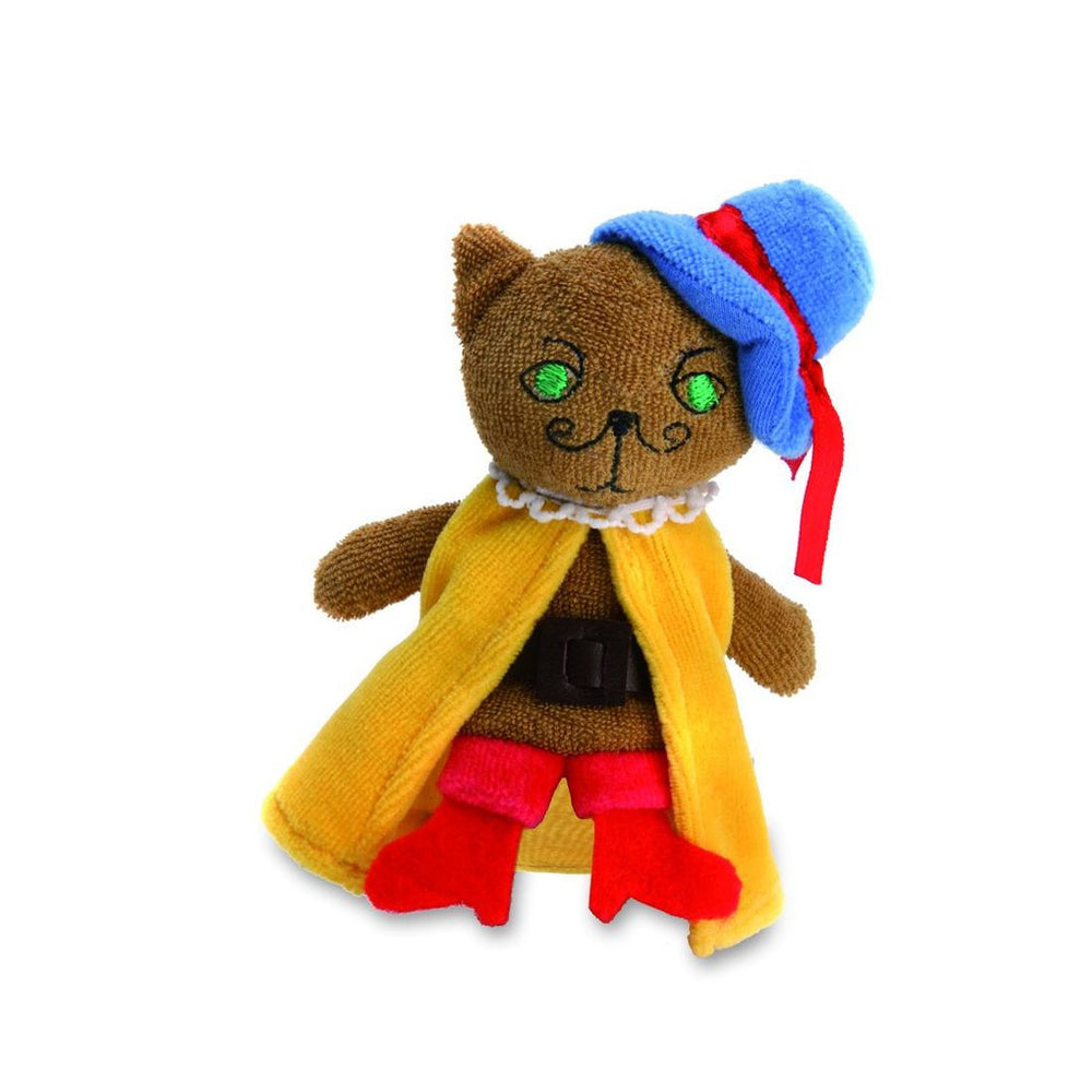 Puss in Boots Finger Puppet - challenge and fun natural toys