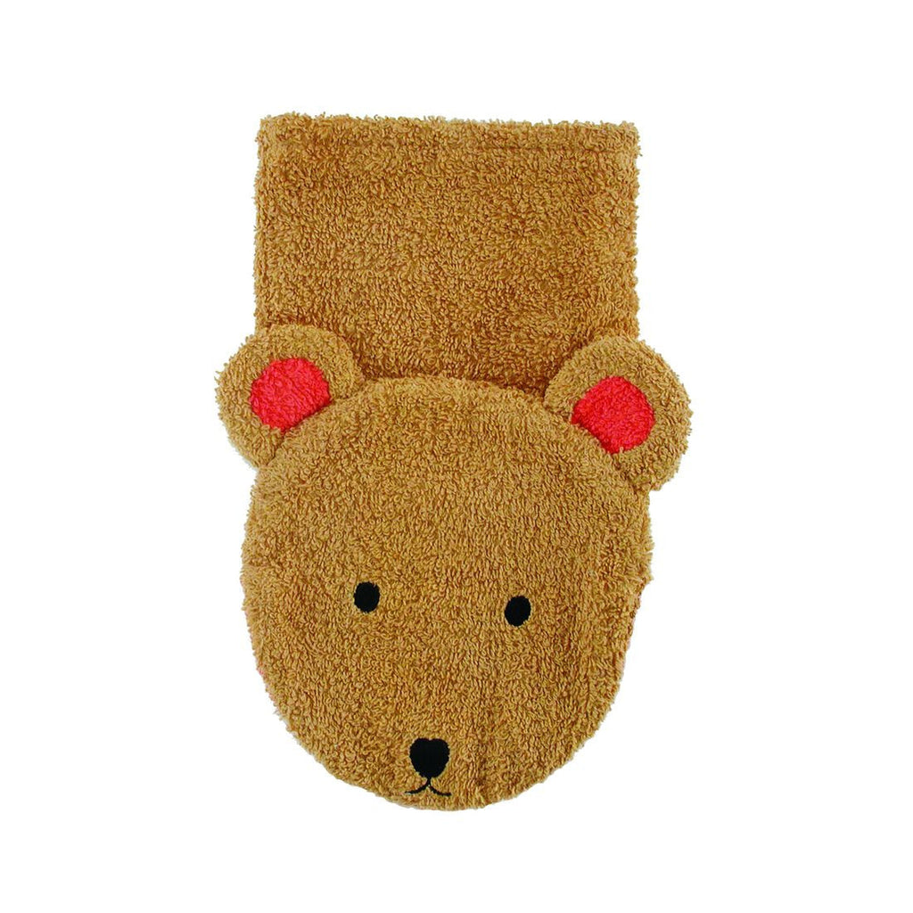 Washcloth Puppet Bear - challengeandfunretail