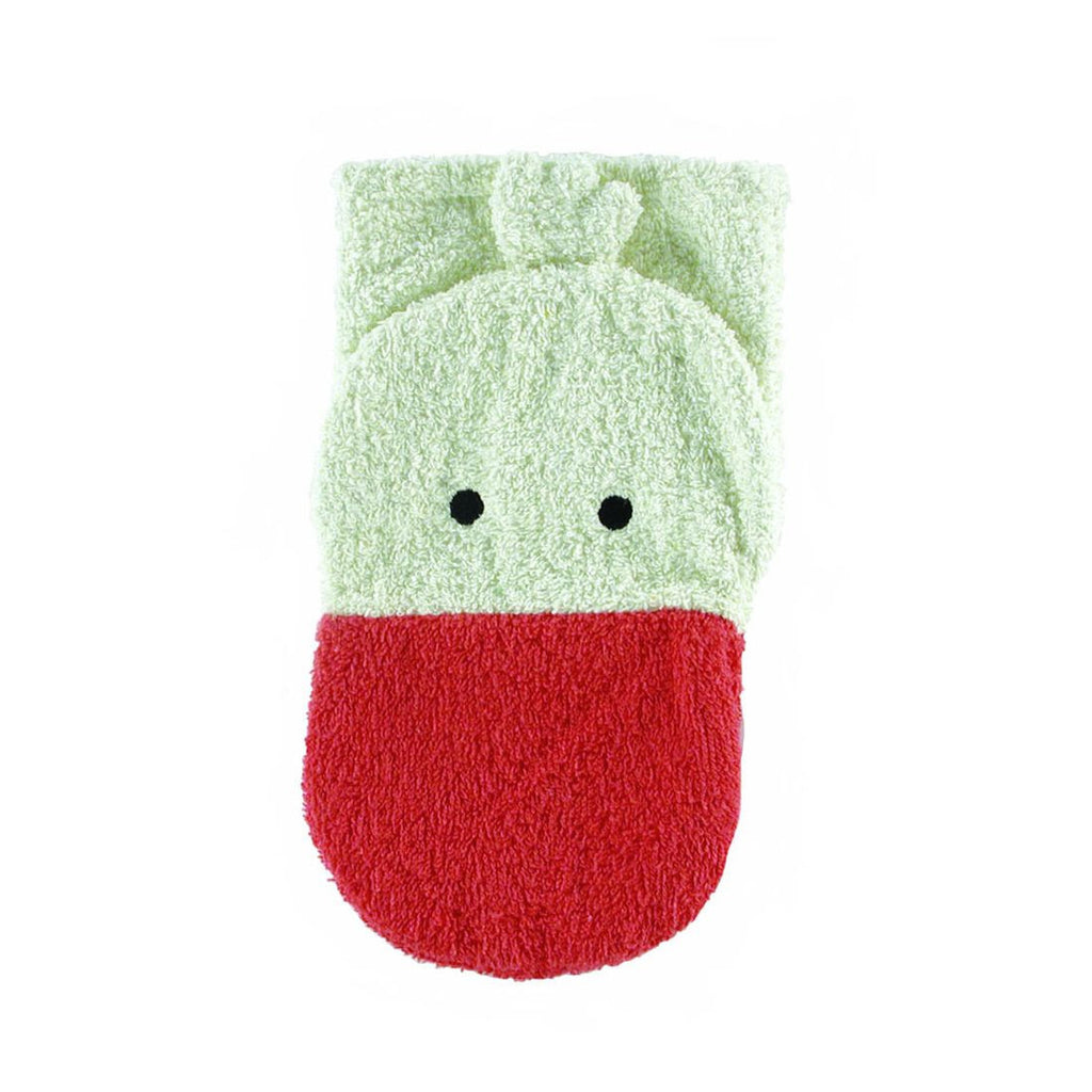 Washcloth Mitt Goose by Furnis - challenge and fun natural toys