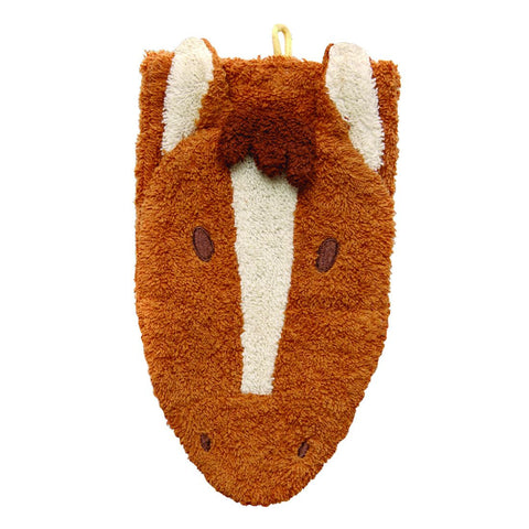 Washcloth Mitt, Horse Child Size - challenge and fun natural toys