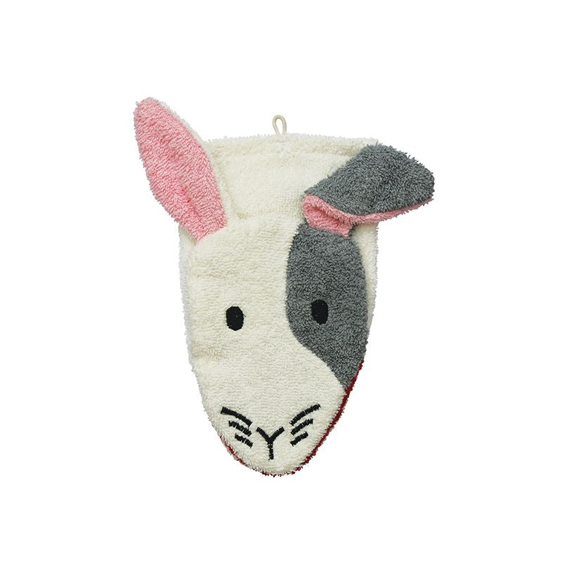 Organic Cotton Rabbit Washcloth Puppet - NEW (6)