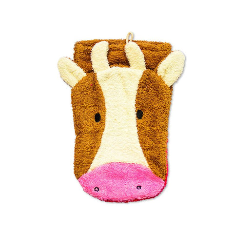 Organic Cotton Cow Washcloth Puppet (NEW!) (6)