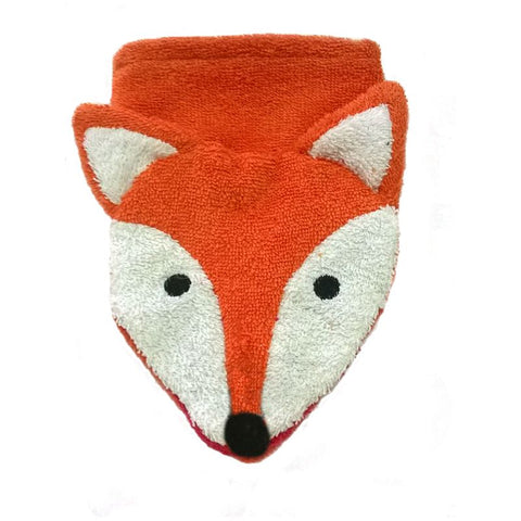 Organic Cotton Fox Washcloth Puppet (NEW!) (6)