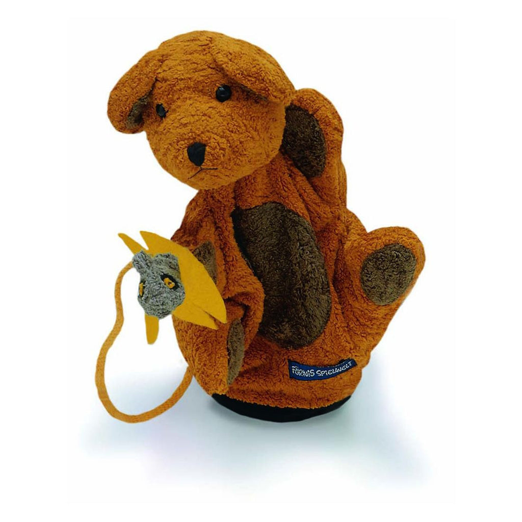 Benno Bear Puppet by Furnis - challenge and fun natural toys