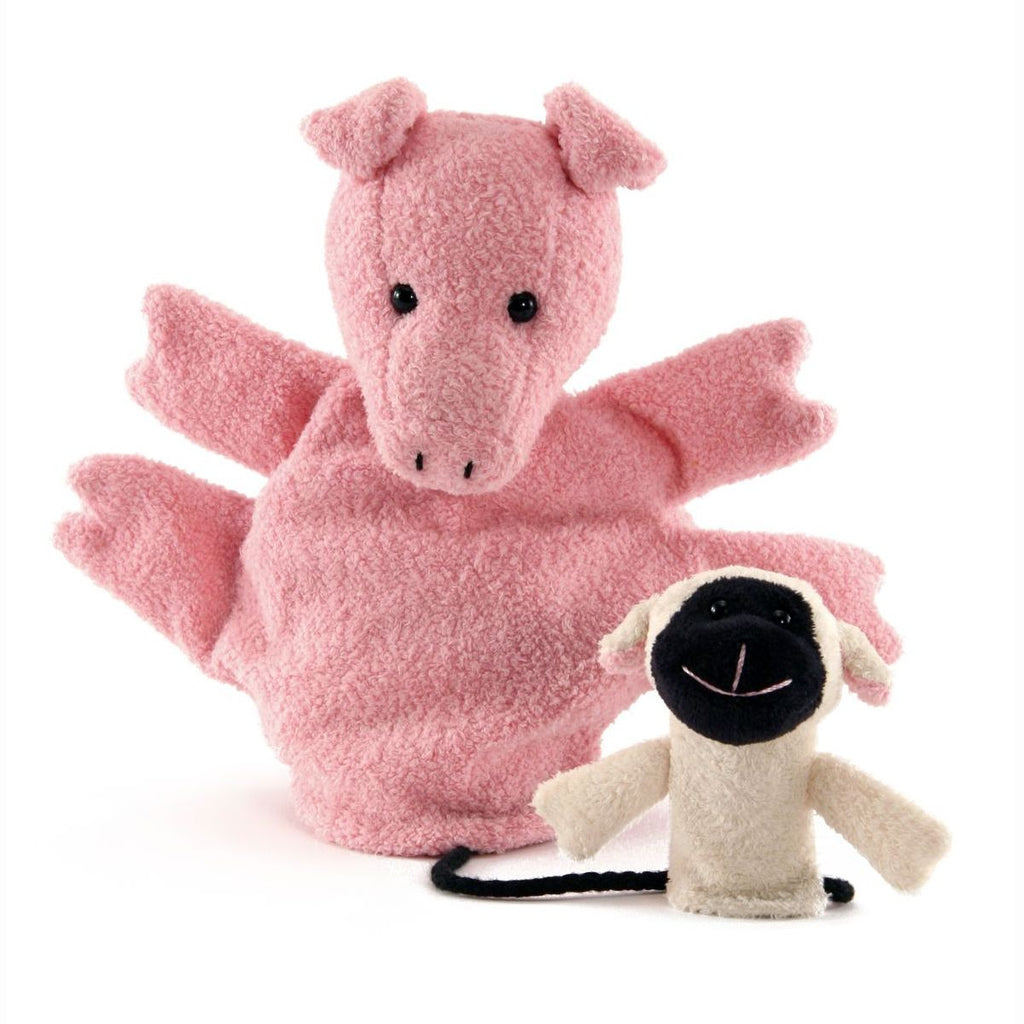 Valarie Pig Puppet by Furnis - challenge and fun natural toys