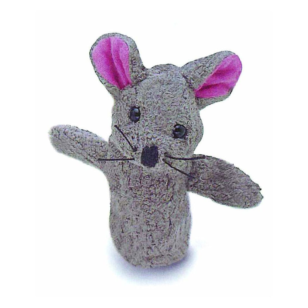 Mouse fingerpuppet by Furnis - challenge and fun natural toys