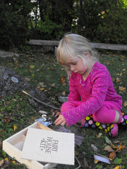 Fairy House Kit in Wooden Box - challenge and fun natural toys - 3