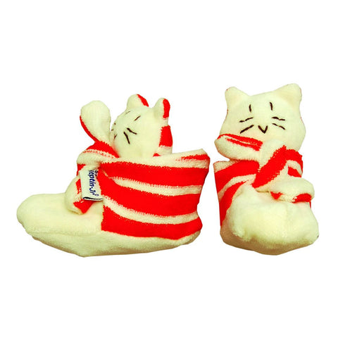 Foot Rattle Booties Mo Orange - challengeandfunretail