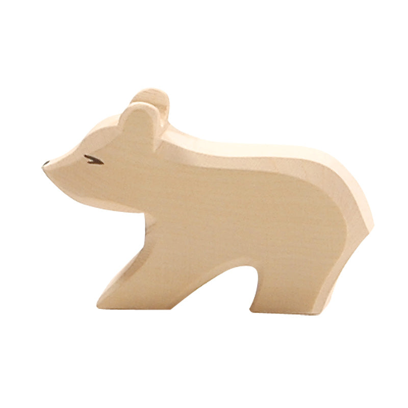 Ostheimer Polar Bear, Small, Short Neck