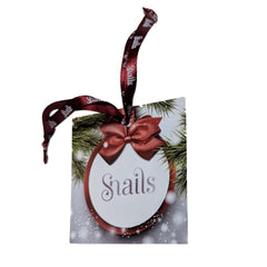 Snails Non-Toxic Nail Polish/Nail Stickers Christmas Pouch
