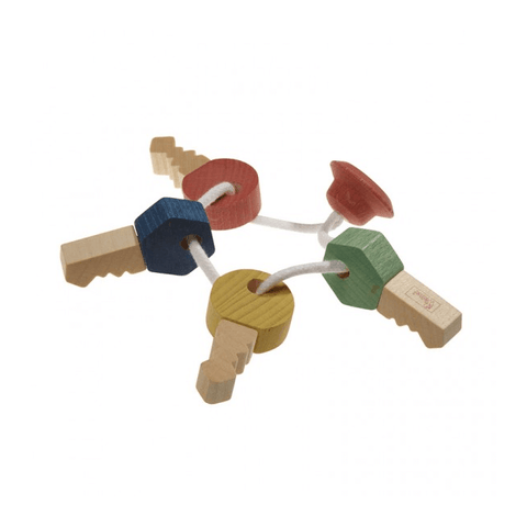 Wooden Keys by Nic - challenge and fun natural toys