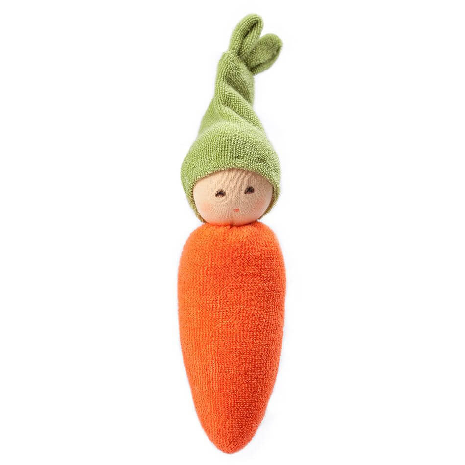 "Nanchen Organic Cotton ""Garden"" Rattle Dolls - challengeandfunretail - 2"