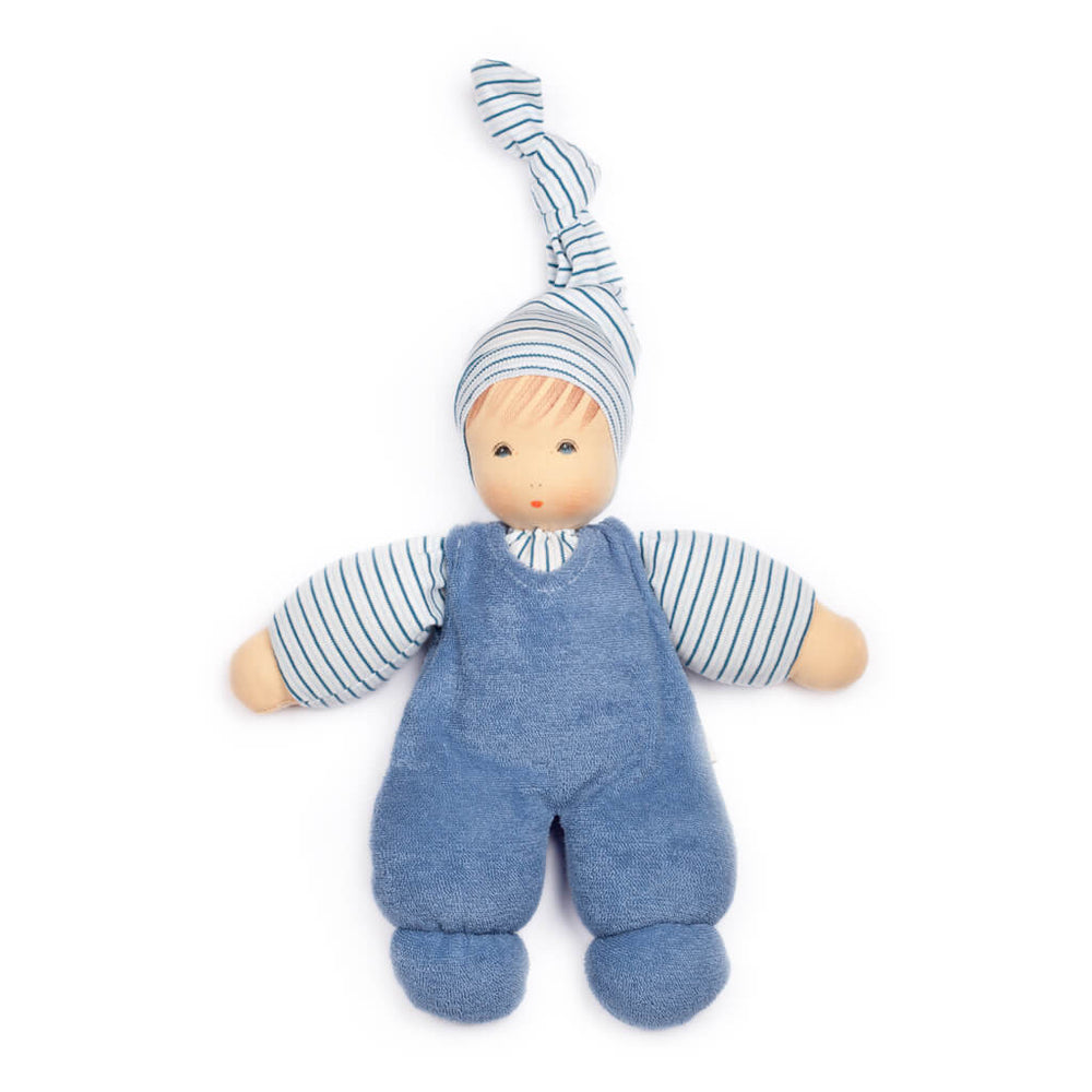 "Nanchen Organic Cotton Doll ""Wuschel"" - challenge and fun natural toys - 2"
